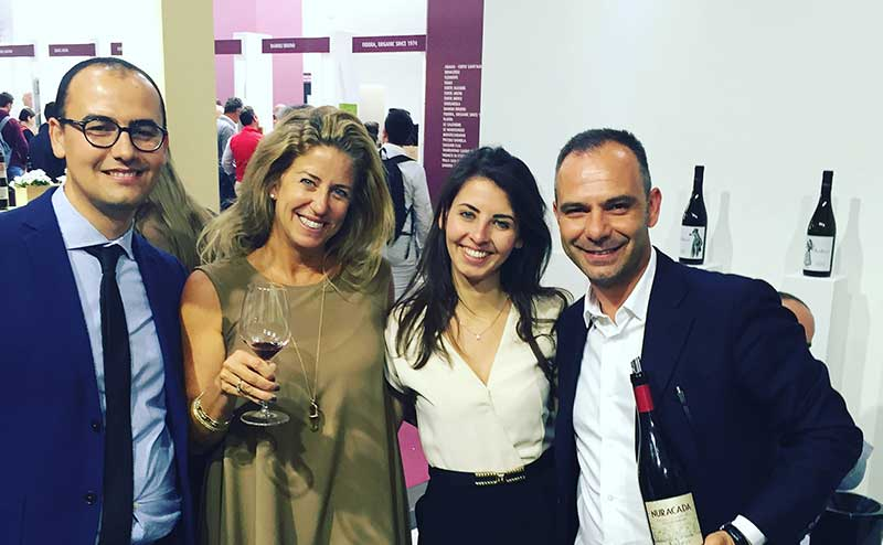 Nina and Audarya at VinItaly