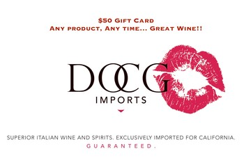 DOCG Imports $50 Gift Card