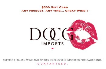 DOCG Imports $500 Gift Card