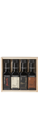 Frantoio Franci Gift set of 4 .1lt in Wooden Box